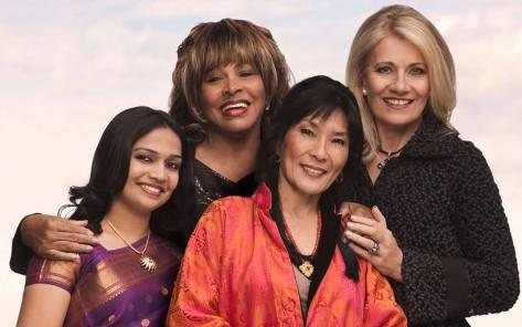 Tina Turner Regula Curti Dechen Shak Dagsay Sawani Shende Beyond Love Within 2014