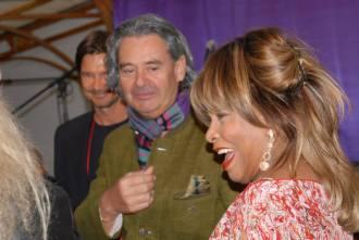 Tina Turner & Erwin Bach - Zurich - May 2014