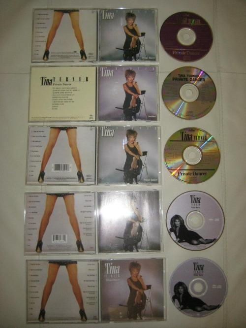 Tina Turner - Private Dancer albums