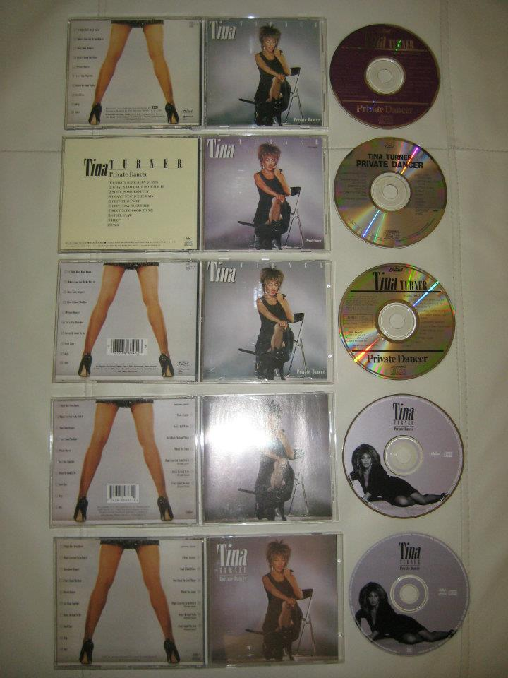 Tina Turner - Private Dancer albums