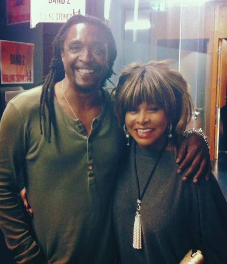 Tina Turner & Bernard Fawley - Rollings Stones Concert 2014