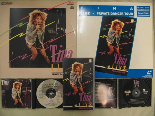 Tina Turner - Tina Live 1985 - Cover Photo