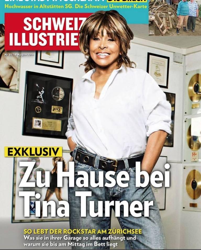 Tina Turner  Schweizer Illustrierte 2014