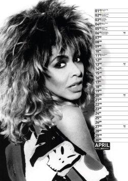 Tina Turner - Calendar 2015 3