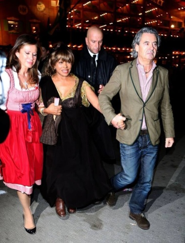 Tina Turner & Erwin Bach - Munich - October 2014