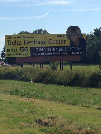 Tina Turner - Nutbush Museum 2014