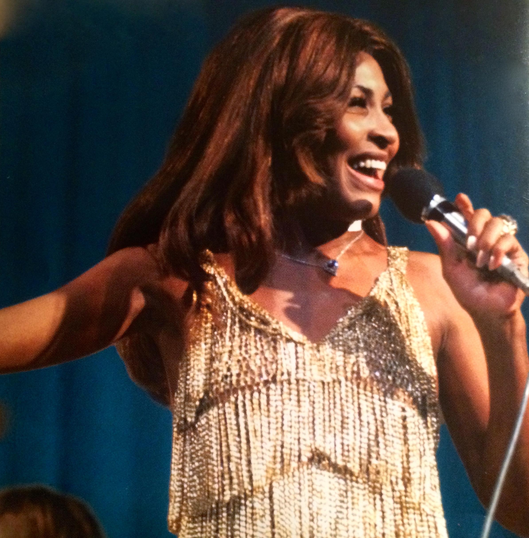 Ike Tina Turner On Stage
