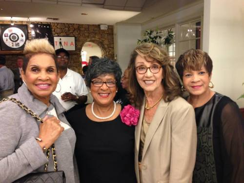 Robbie Montgomery, Rhonda Graam and Carolyn Flagg at the Opening of Tina Turner Museum (Photo S.Evans)