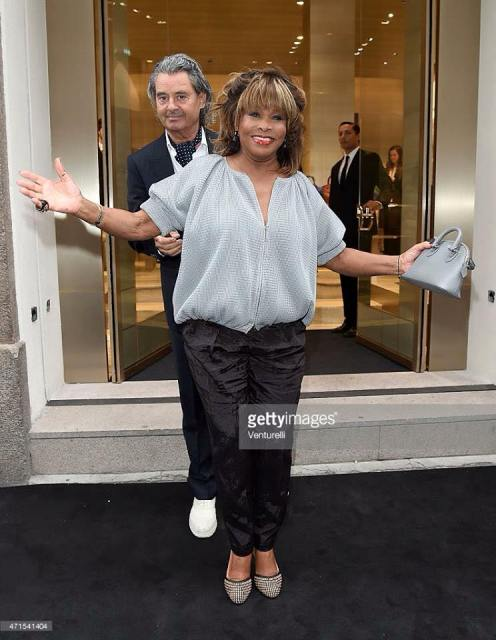 Tina Turner Armani Dinner Event - Milan 2015