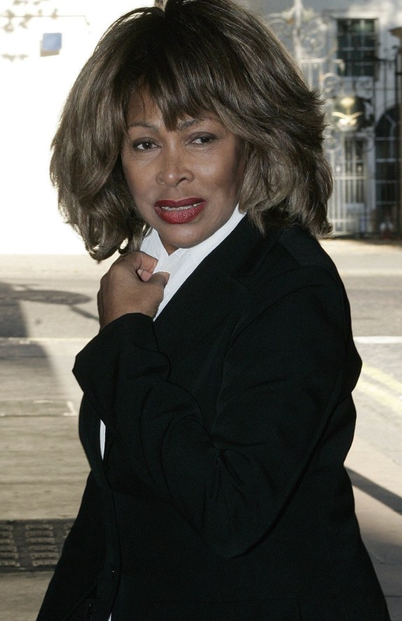 Tina Turner at Ismail merchant Memorial event (2005)  Copyright: NI Syndication  Picture: Michael Crabtree