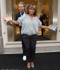 Tina Turner & Erwin Bach - Armani 40 Years Event - Milano 2015
