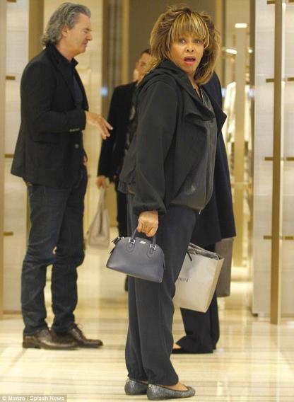 Tina Turner in Milano 2015