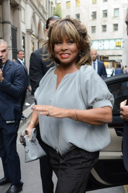 Tina Turner in Milan, Italy