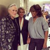 Tina Turner - Lauren Hutton - Glenn Close - Armani 2015