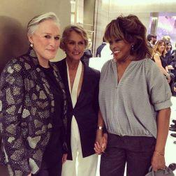 Tina Turner - Lauren Hutton - Glenn Close - Armani 2015