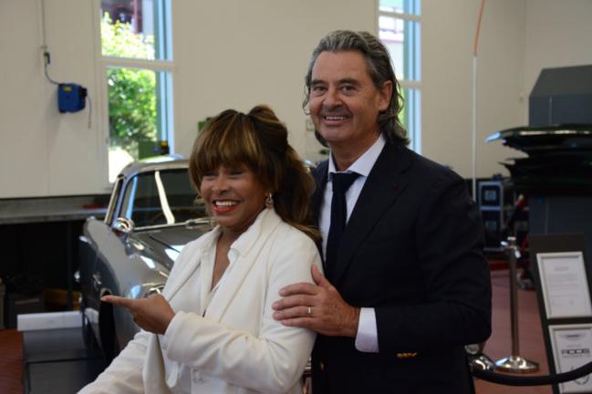 Tina Turner & Erwin Bach - Zurich July 2015
