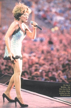 Tina Turner live in Sheffield - Wildest Dreams Tour 1996