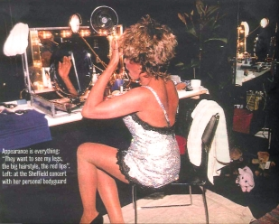 Tina Turner make up - Wildest Dreams Tour 1996