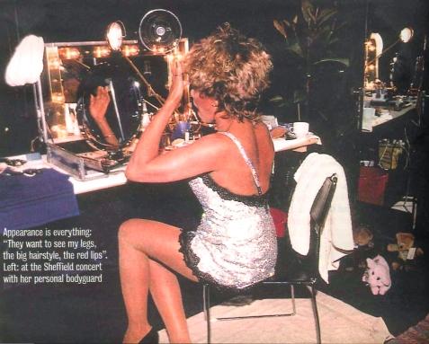 Tina Turner make up - Wildest Dreams Tour 1996