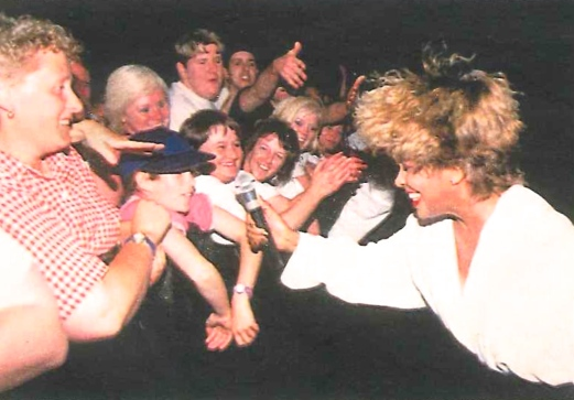 Tina Turner Nutbush Live Sheffield - Wildest Dreams Tour 1996