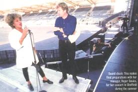 Tina Turner rehearsal Sheffield- Wildest Dreams Tour 1996