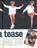 Tina Turner - Wildest Dreams Tour Report - Boulevard Magazine 1996 - 2