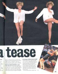 Tina Turner - Wildest Dreams Tour Report - Boulevard Magazine 1996 - 2