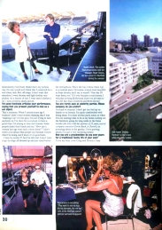 Tina Turner - Wildest Dreams Tour Report - Boulevard Magazine 1996 - 3