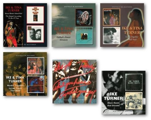 Ike & Tina Turner CD releases on BGO Records