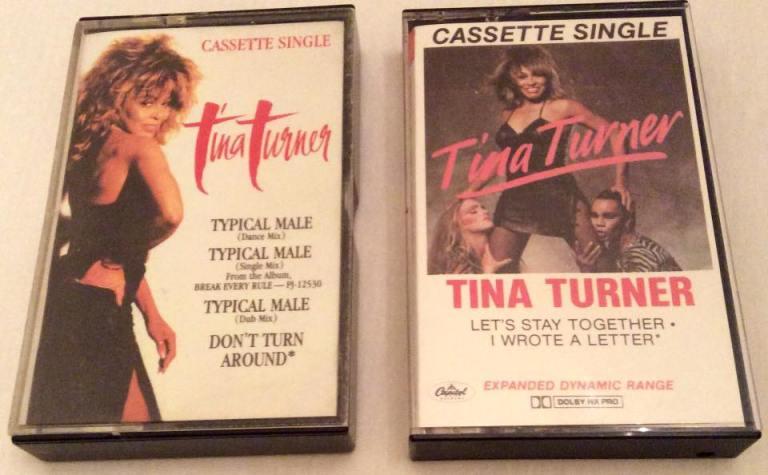 Tina Turner - Cassette Singles - 1984 86
