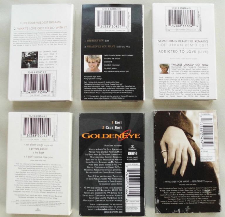 Tina Turner - Cassette Singles - 1996