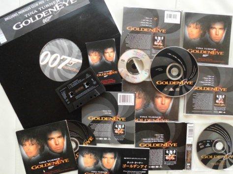 Tina Turner - GoldenEye - Releases