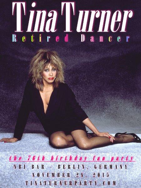 Tina Turner Berlin 2015 Poster