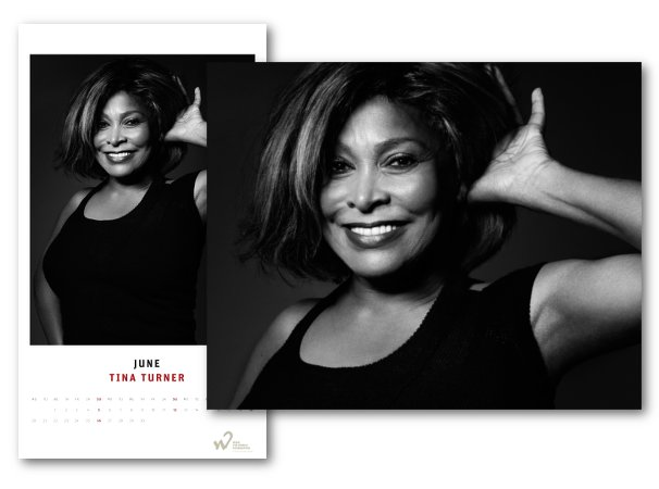 Tina Turner - Hear The World Calendar 2016 - June