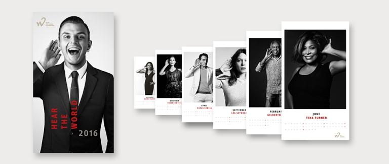 Tina Turner - Hear The World 2016 - Calendar