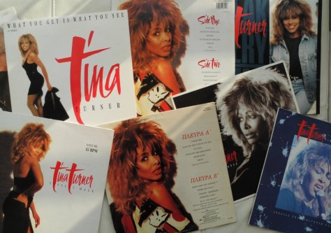 Tina Turner - Break Every Rule - Collage