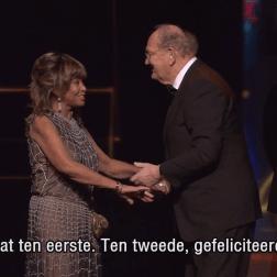Tina Turner - Dutch Music Awards 201618