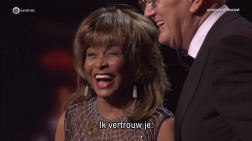 Tina Turner - Dutch Music Awards 20166
