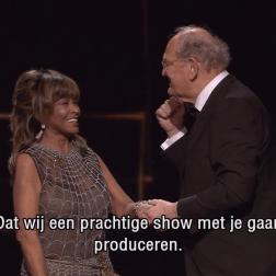 Tina Turner - Dutch Music Awards 20169