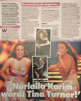 Nurlaila Karim -Tina Turner Musical Interview 2016 - 10