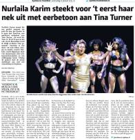 Nurlaila Karim -Tina Turner Musical Interview 2016 - 3