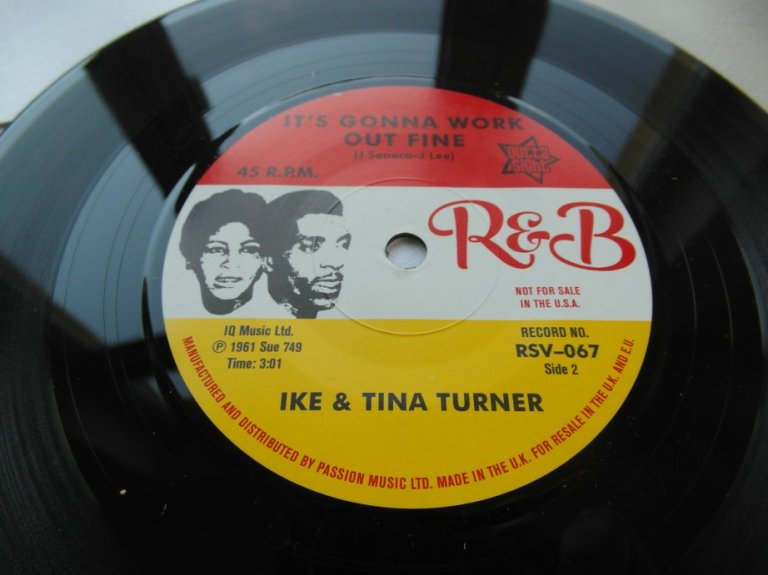 Ike and Tina Turner - I Think It s Gonna Work Out Fine - 7 Inch
