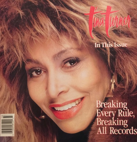 Tina Turner - billboard magazine - August 1987