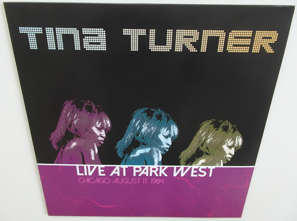 Tina Turner - Live at Park West - 12 Inch LP Re-Issue