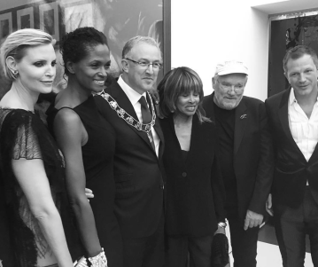 Tina Turner at Peter Lindbergh Exhibition (Rotterdam 2016)
