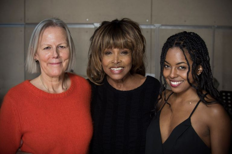 Tina Turner - Phyllida Lloyd - Adrienne Warren- TINA The Musical - London 2018 .jpg