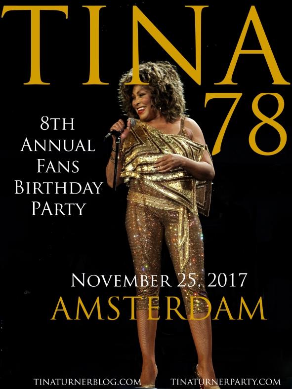 TINA78 - Tina Turner Fans 78th Birthday Party - 2017