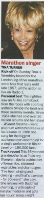 Tina Turner - Newspaper Clippings - 2
