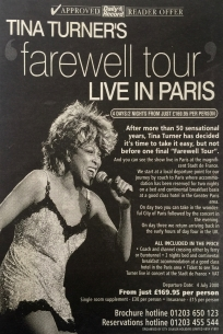 Tina Turner - Newspaper Clippings - 3