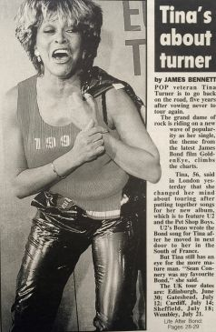 Tina Turner - Newspaper Clippings - 7